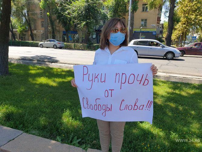 Медиаорганизации Кыргызстана обеспокоены фактами нападений и угроз в адрес журналистов и редакций СМИ