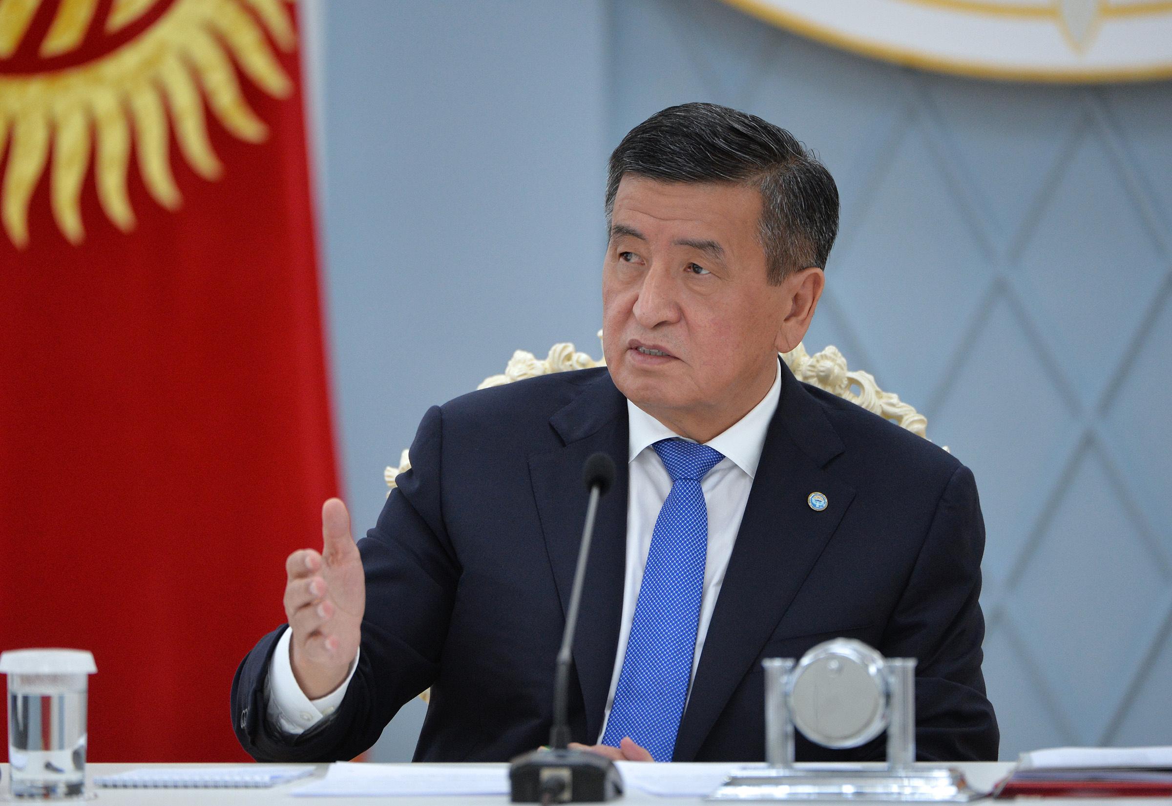 Президент призвал все партии соблюдать законы во время агитации