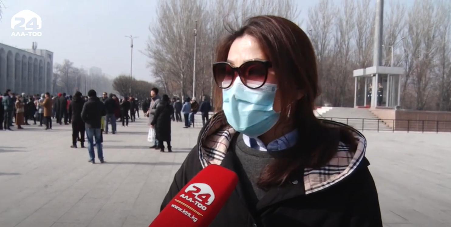 Телеканал «Ала-Тоо 24» удалил новостной сюжет с критикой марша против коррупции