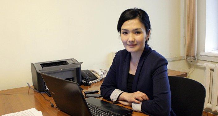 Толкун Камчыбекова назначена главой пресс-службы правительства