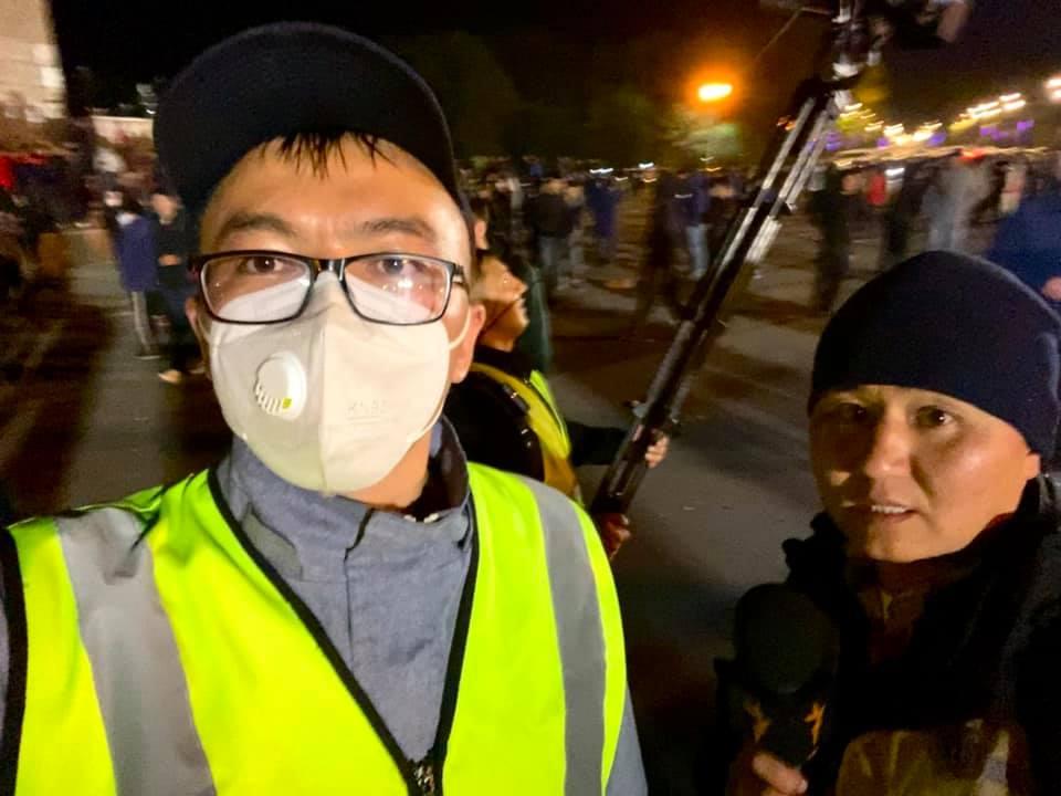 ГОВД Оша прекратило дело о нападении на журналиста «Азаттыка» во время митинга