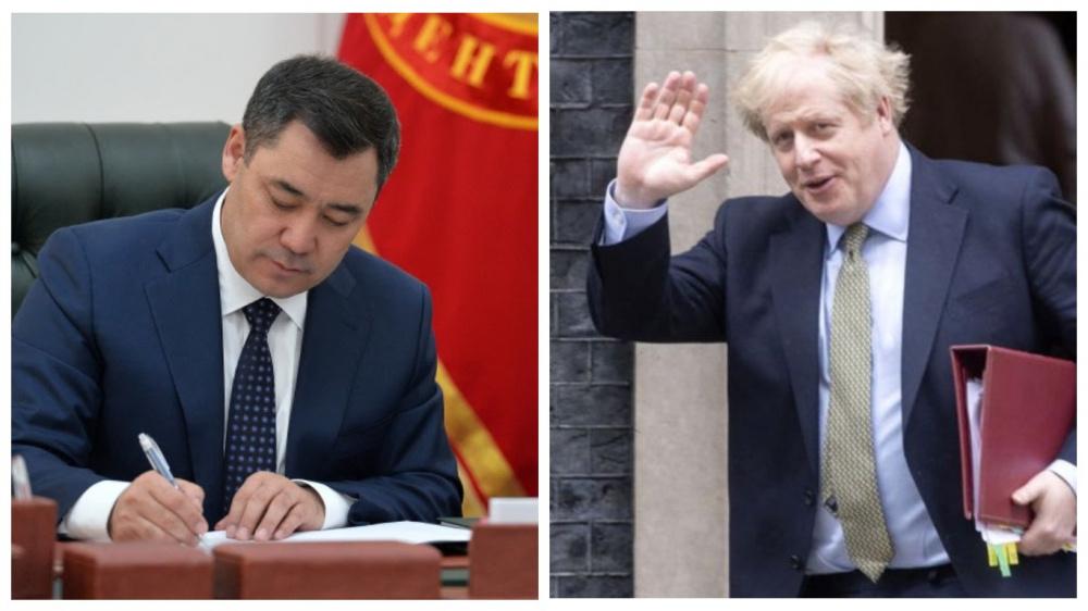 СМИ: Садыр Жапаров написал Борису Джонсону письмо с обещаниями