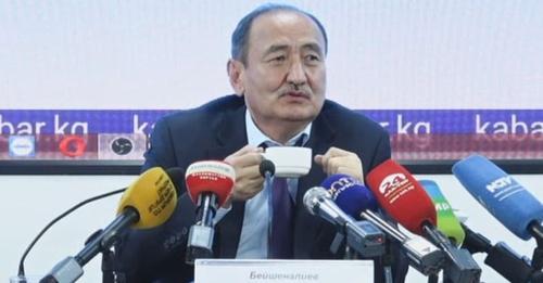 Глава минздрава Бейшеналиев: Я запретил себе говорить об иссык-кульском корне